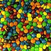 Mountain Of M And M's Print by Anna Villarreal Garbis