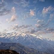 Mountain Top Print by Athala Carole Bruckner