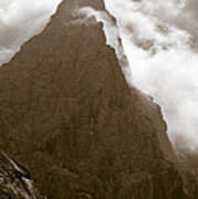 Mountainscape Print by Frank Tschakert