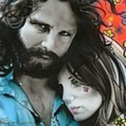 'mr Mojo Risin And Pam' Print by Christian Chapman Art