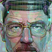 Mr. White Print by Jeremy Scott