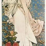 Mucha, Alphonse Maria 1860-1939 Print by Everett