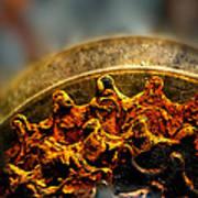 Muddy Rusty Sprockets Print by Bob Orsillo