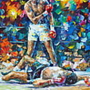 Muhammad Ali Print by Leonid Afremov