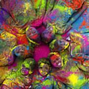 Multicoloured Boys Print by Tim Gainey