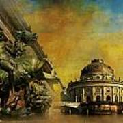 Museum Island Print by Catf
