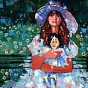 My Pierrot Print by Anastasija Kraineva