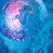 My Reflection In A Divers Bubble Print by John Malone