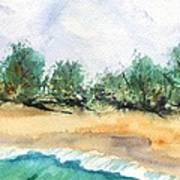 My Secret Beach Print by Marionette Taboniar