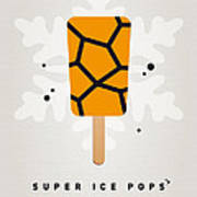 My Superhero Ice Pop - The Thing Print by Chungkong Art