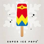 My Superhero Ice Pop - Wonder Woman Print by Chungkong Art