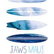 My Surfspots Poster-1-jaws-maui Print by Chungkong Art