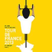 My Tour De France Minimal Poster Print by Chungkong Art