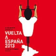 My Vuelta A Espana Minimal Poster - 2013 Print by Chungkong Art