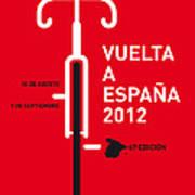 My Vuelta A Espana Minimal Poster Print by Chungkong Art