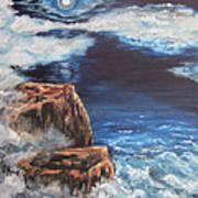 Mysterious Water Print by Cheryl Pettigrew