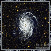 Nasa Big Brother To The Milky Way Print by Rose Santuci-Sofranko