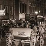 Nashville Carriage Ride Print by John McGraw