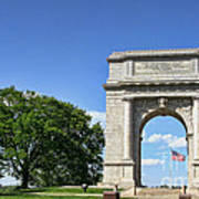 National Memorial Arch At Valley Forge Print by Olivier Le Queinec