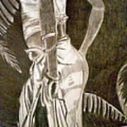 Native Woman Print by Debi Starr