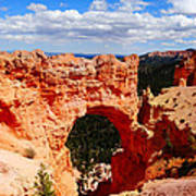 Natural Bridge In Bryce Canyon National Park Print by Dan Sproul