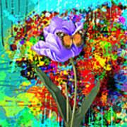 Nature Vs Caos Print by Gary Grayson