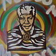Nelson Mandela Print by Tony B Conscious