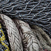 Nets And Knots Number Two Print by Elena Nosyreva