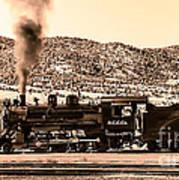 Nevada Northern Railway Print by Robert Bales