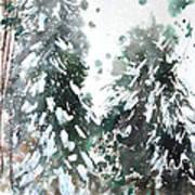 New England Landscape No.223 Print by Sumiyo Toribe