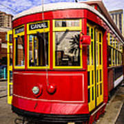 New Orleans Streetcar  Print by Paul Velgos