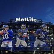 New York Giants Metlife Stadium Print by Joe Hamilton