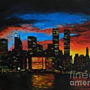 New York In The Glory Days Print by Alexandru Rusu