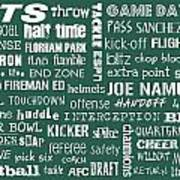 New York Jets Print by Jaime Friedman