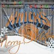 New York Knicks Print by Joe Hamilton