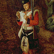 News From Home Print by Sir John Everett Millais