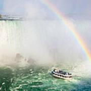 Niagara's Maid Of The Mist Print by Adam Pender