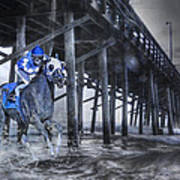 Night Run II Print by Betsy Knapp