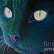 Night Vision Print by Brian  Commerford