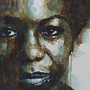 Nina Simone Print by Paul Lovering