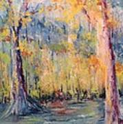 Nlr Lake Study  Print by Robin Miller-Bookhout