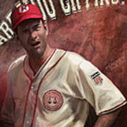 No Crying In Baseball Print by Steve Goad