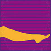 No135 My The Graduate Minimal Movie Poster Print by Chungkong Art
