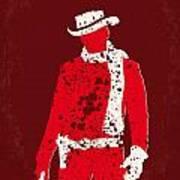 No184 My Django Unchained Minimal Movie Poster Print by Chungkong Art