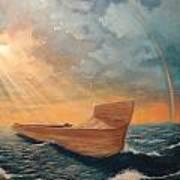 Noah's Ark Print by Clay Hibbard