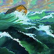 Noah's Ark Print by Karon Melillo DeVega