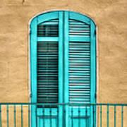 Nola Balcony Print by Brenda Bryant