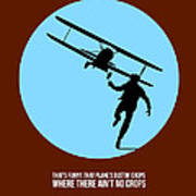 North By Northwest Poster 2 Print by Naxart Studio