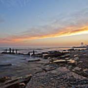 North Point Sunset Print by CJ Schmit