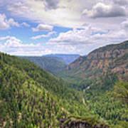 Oak Creek Canyon Print by Ricky Barnard